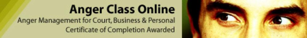 Anger Class Online banner